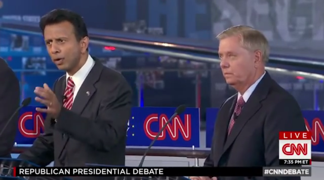 Bobby Jindal senate Republicans CNN debate dismantle time to end the Republican Party