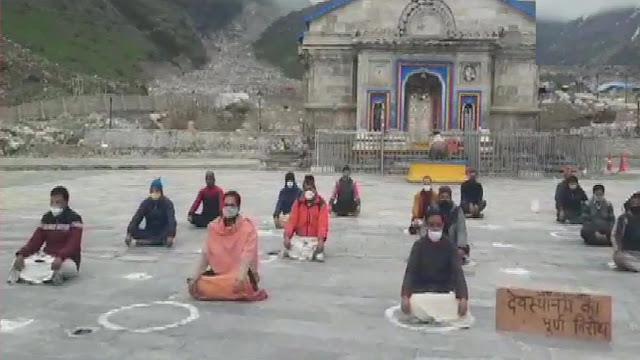 কেদারনাথ মন্দিরের পুরোহিতরা আন্দোলনে