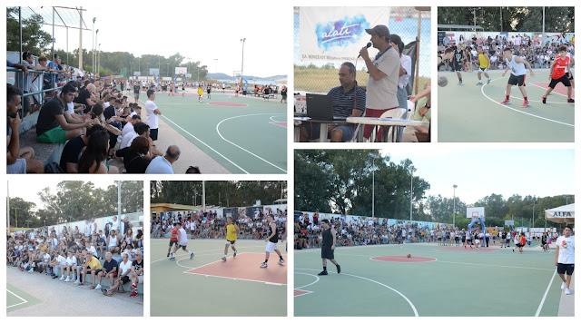 Πρέβεζα: Άνοιξε η αυλαία του 8ου Τουρνουά Μπάσκετ 3on3