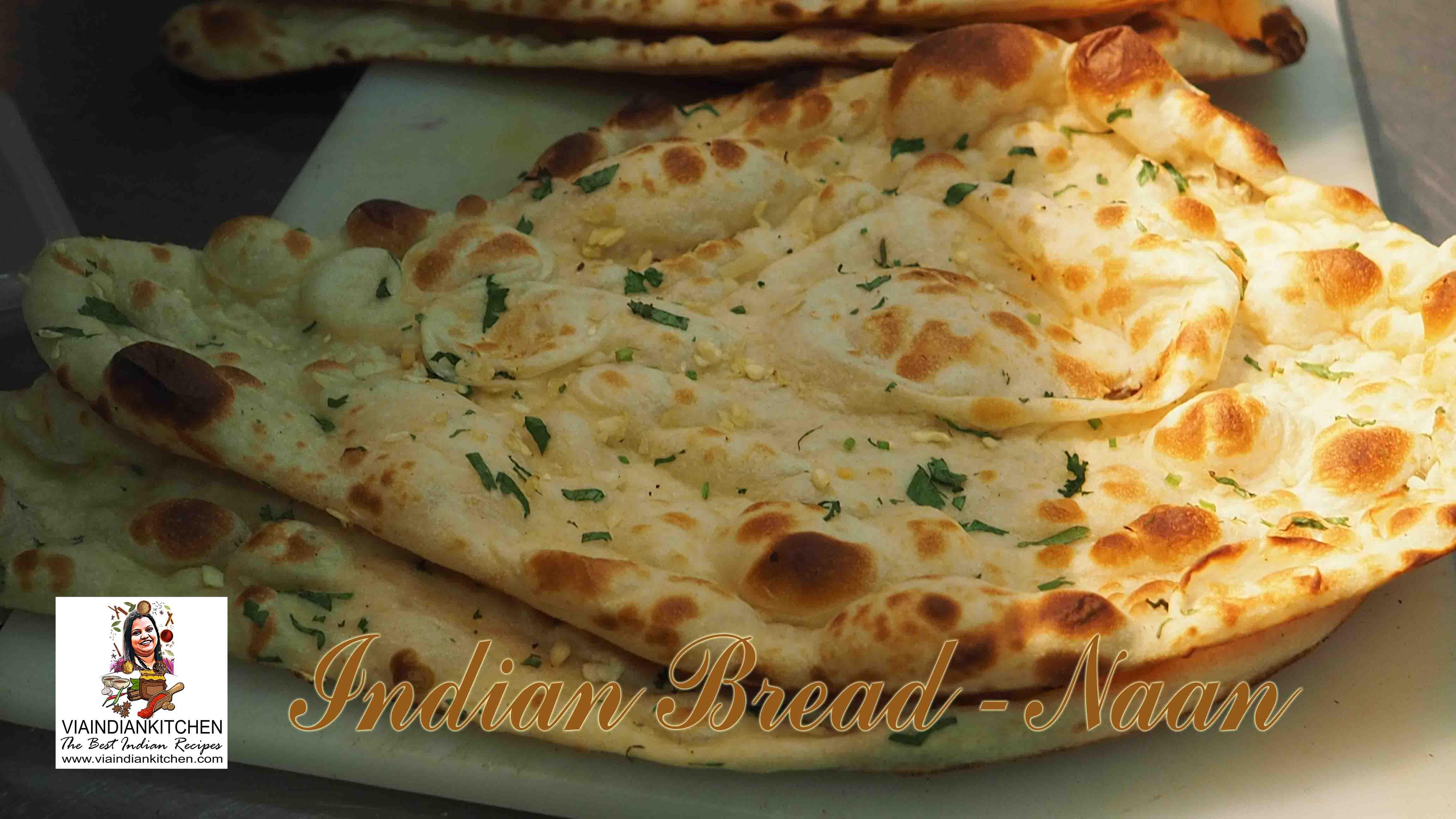 viaindiankitchen - Naan Indian yeast Bread