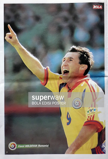 VIOREL MOLDOVAN OF ROMANIA ON EURO 2000