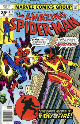 Amazing Spider-Man #172, the Rocket Racer