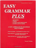 Cover of first edition Easy Grammar Plus