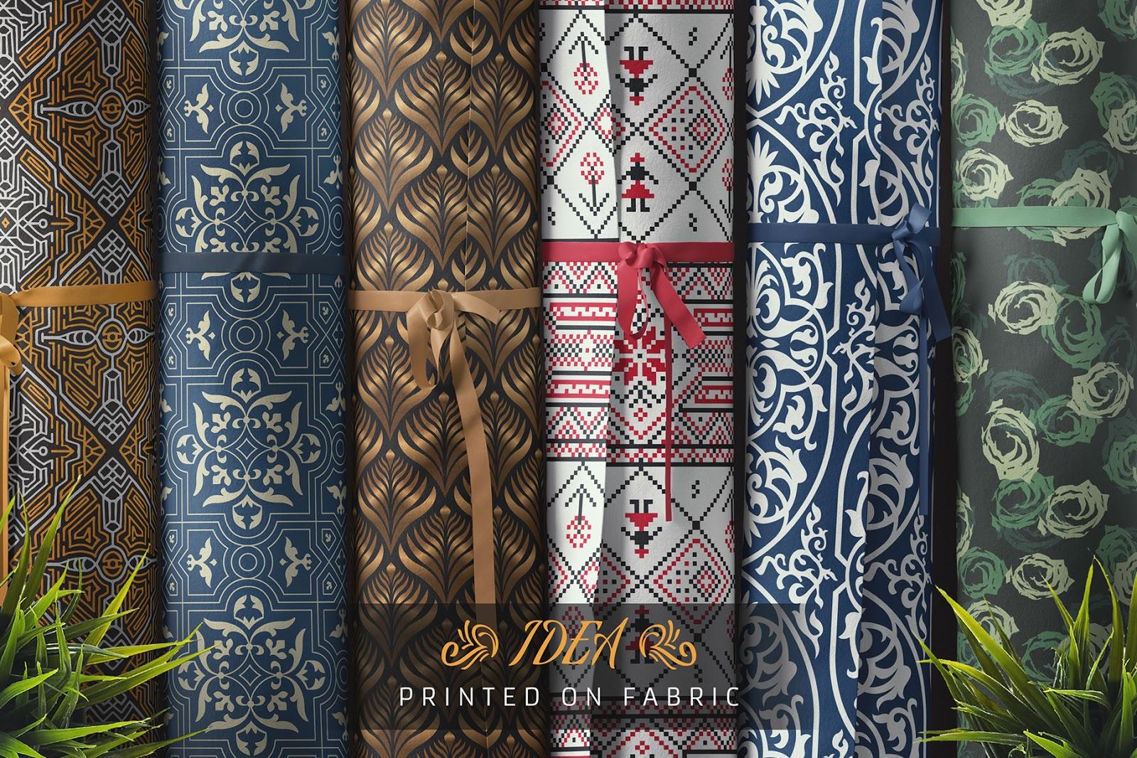 حقيبة عناصر الطباعة على الخامات اكثر من 1300 عنصر للطباعة على الجلد الورق الاقمشة وكل شيئ