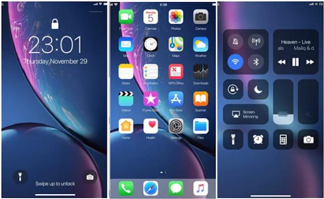 Tema iPhone XR Untuk Xiaomi