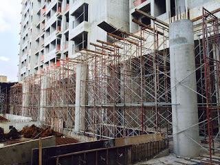 Uoa Group-Desa Green, Kencana Square, Kiara 4 - 05 Scaffold Erection