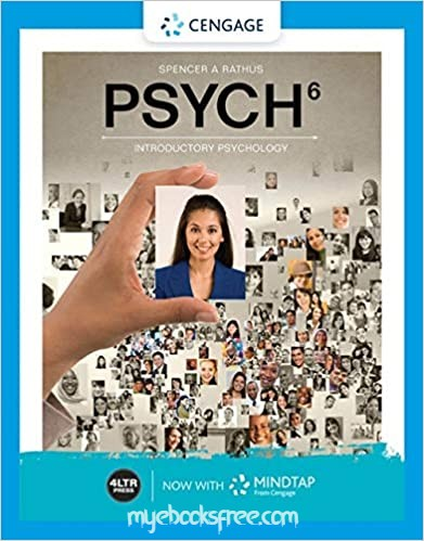 Psych 6 Introductory Psychology Pdf Book by Rathus