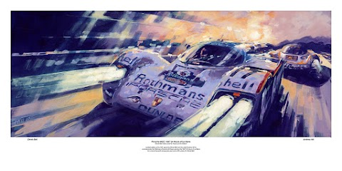 Limited Edition Derek Bell Print