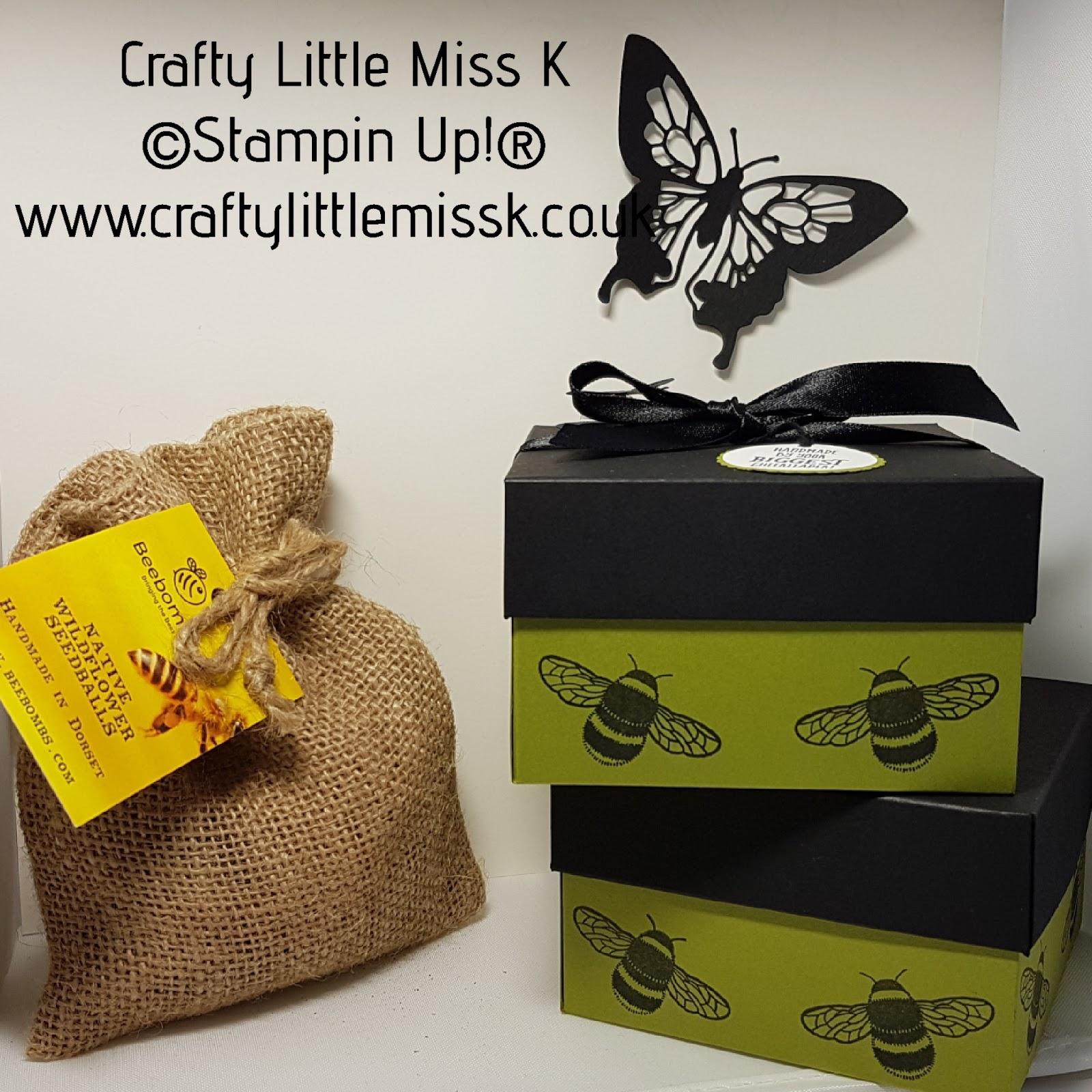 CraftyLittleMissK: Bee Bomb Boxes