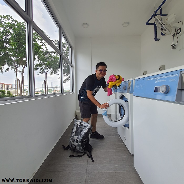 Tanjung Point Residences review-Laundry