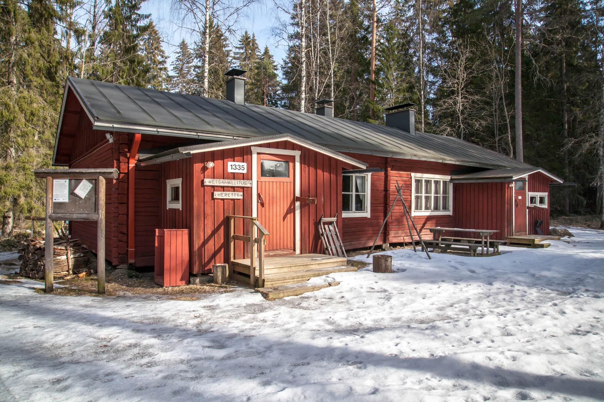 Heretyn kämppä Isojärvi