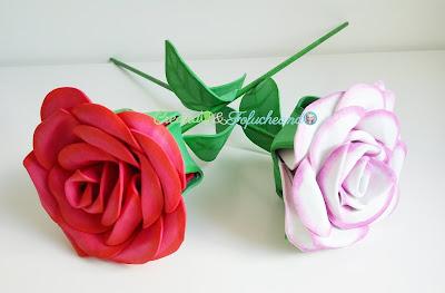 Cómo-Hacer-Rosas-de-Goma-eva-La-fiesta-de-la-goma-eva-celebrando-mi-4º-cumple-blog-creando y Fofucheando