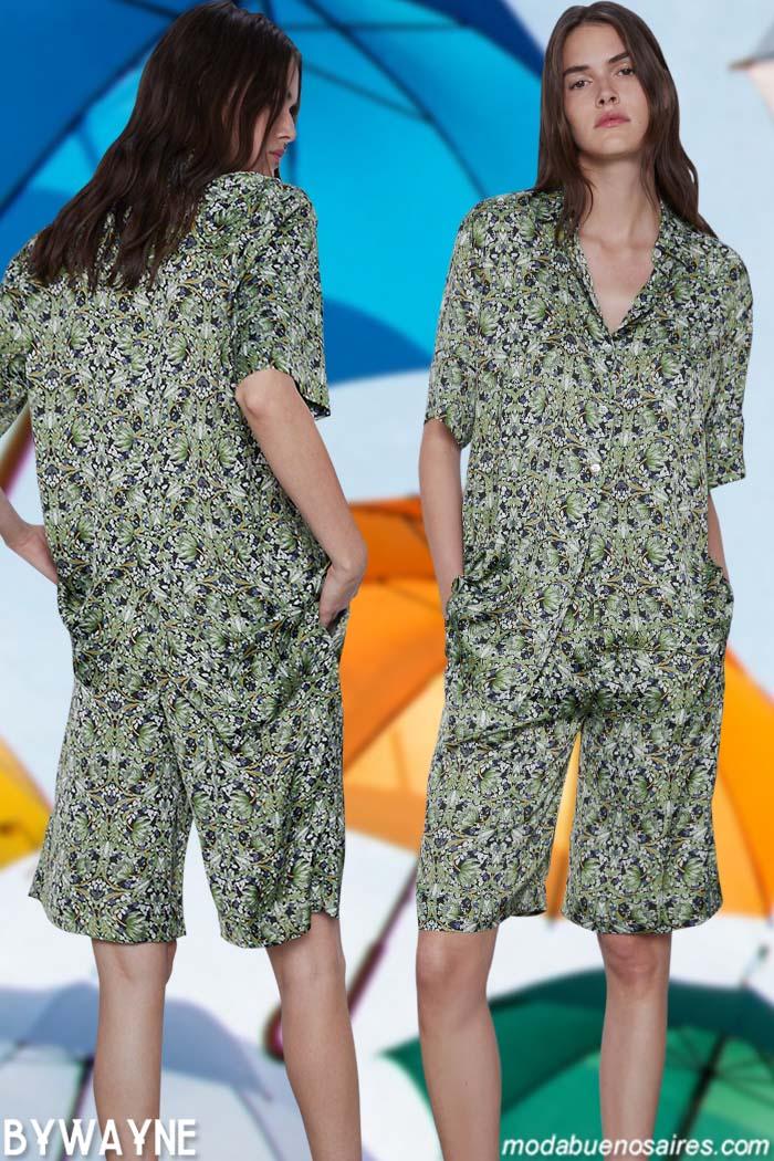 monos pijamas verano 2021