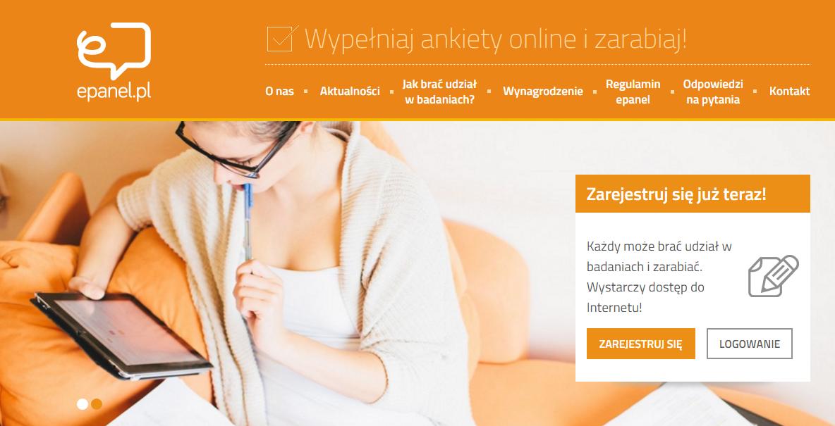 Epanel.pl - zarabiaj wypełniając ankiety