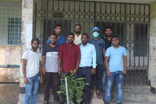 শহীদ জিয়াউর রহমান এর ৩৯ তম শাহাদাৎ উপলক্ষে সরকারী এম এম আলী কলেজ ছাত্রদলের উদ্যোগে  বৃক্ষ রোপন কর্মসৃচী পালন