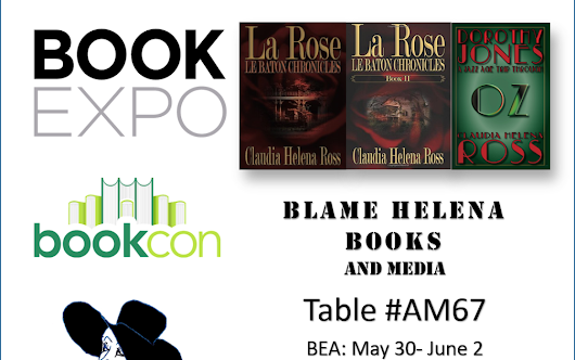 Book Expo and Book Con May 31 - June 4th