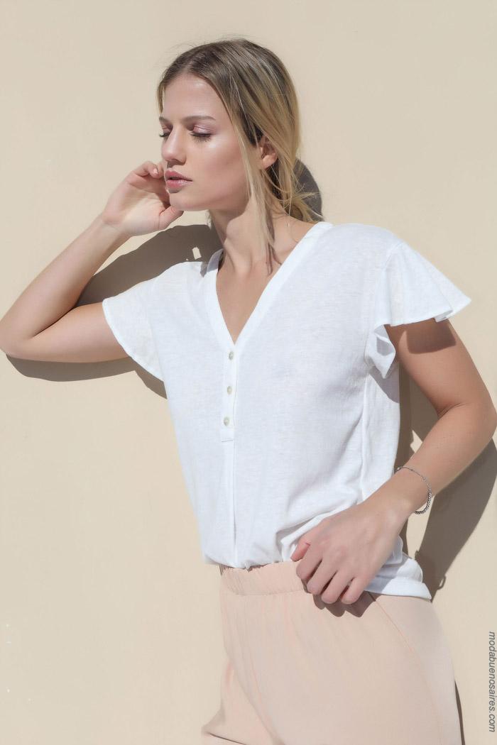 que blusas y camisas estan de moda primavera verano 2020
