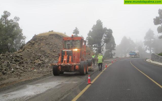 Obras Públicas concluirá en septiembre el asfaltado del último tramo de la LP-2 que resta para llegar a El Charco
