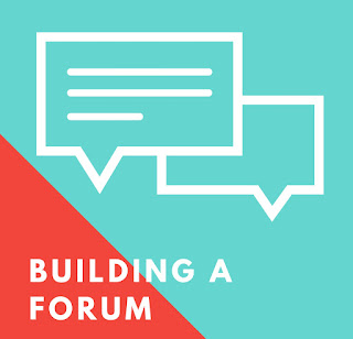 Embed forum into website