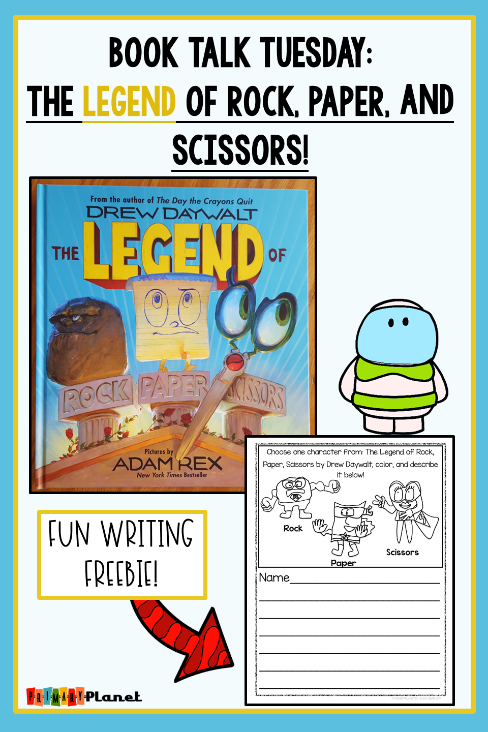 Describing Character Traits Mentor Text with Freebie!