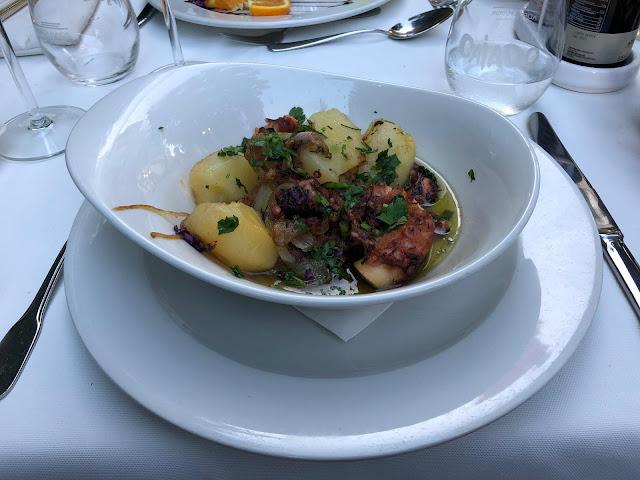 O Dragoeiro, Funchal, Madeira, Restaurant, Octopus, Lagareiro, Food,