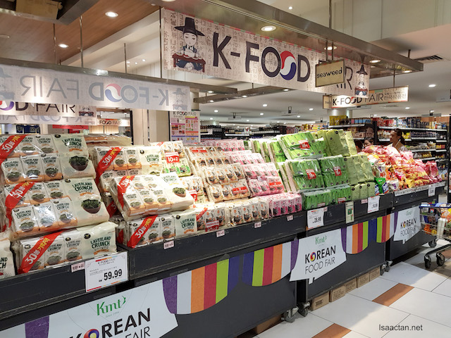 ISETAN KLCC Korean Food Fair Happening Now!