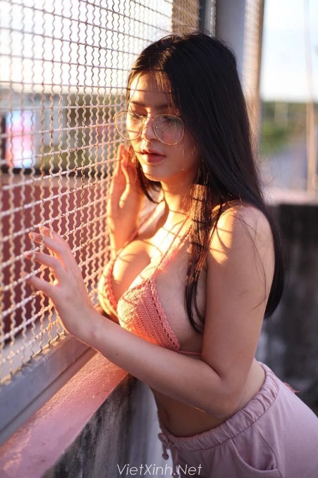 Bộ ảnh vếu khủng mông to của Sukanya Sueachom phê lòi