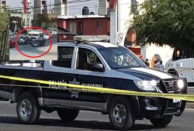 VIDEO.- El Sicariato ejecuta a sangre fría a 2 Policías en Celaya; Guanajuato fue captado por camaras