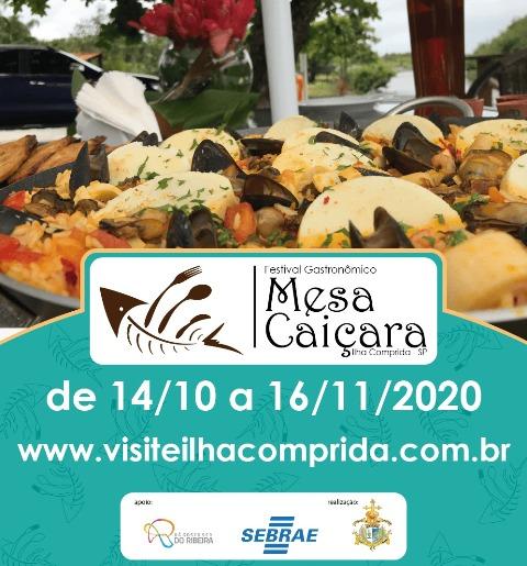 Festival Gastronômico Mesa Caiçara da Ilha Comprida prossegue até 16/11