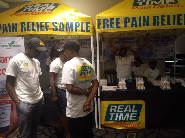 Real Time Pain Relief Product Launched into the Nigerian Market