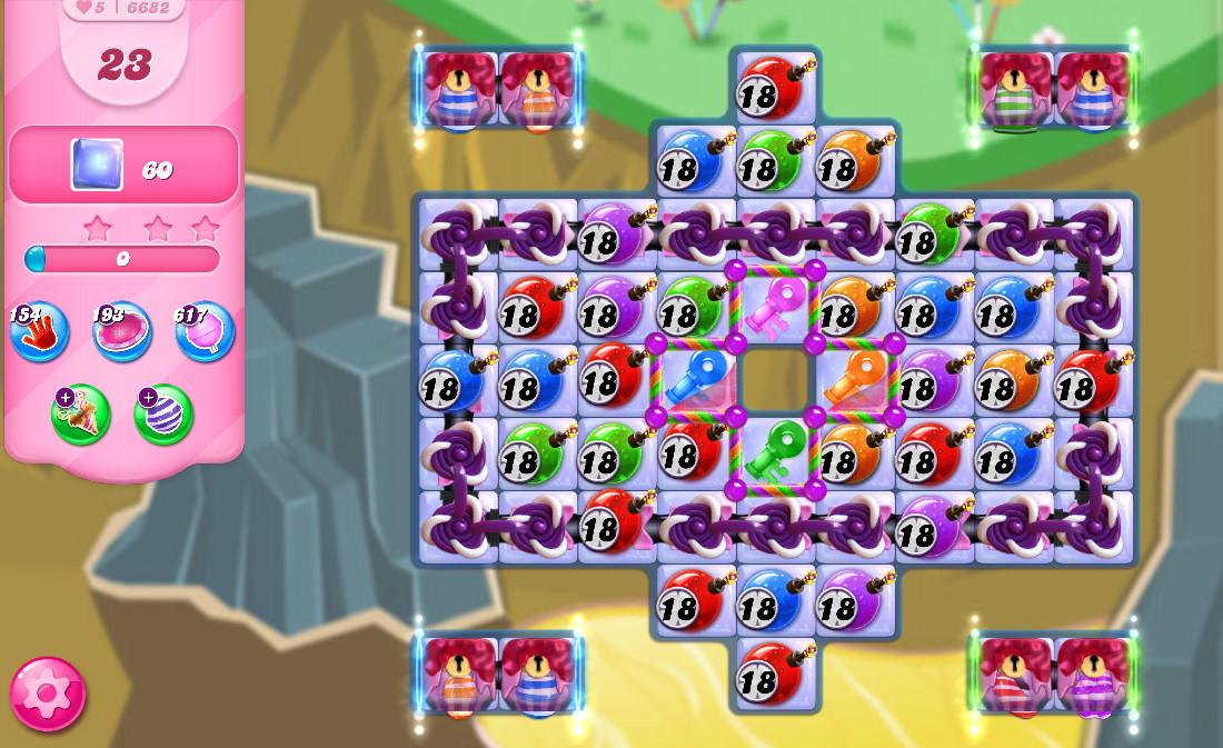 Candy Crush Saga level 6682
