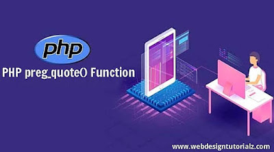 PHP preg_quote() Function