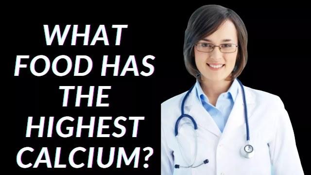 What Food Has the Highest Calcium?