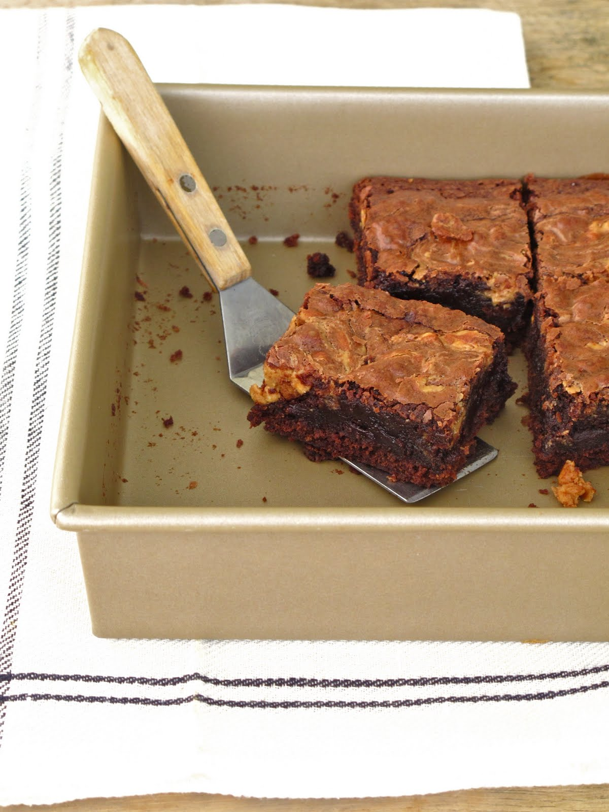 Jenny Steffens Hobick Peanut Butter Brownies Chewy