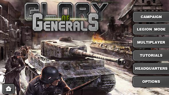 Glory of Generals HD Mod (Unlimited Money) APK 2014