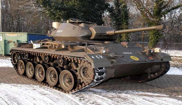 yaitu kendaraan perang dengan mesin yang sangat luar biasa dan besar lengan berkuasa 10 TANK MILITER INI DIJUAL UNTUK WARGA SIPIL