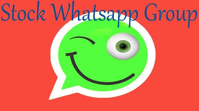 Stock Whatsapp Group