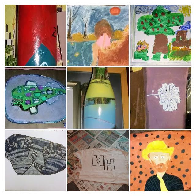 metamora herald art collage