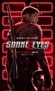 snake eyes 2021 movie poster wallpaper screensaver image picture
