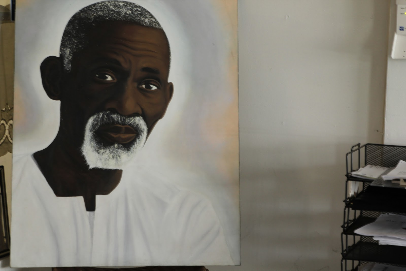 My visit to Dr  Sebi in search of products for healthy skin and hair