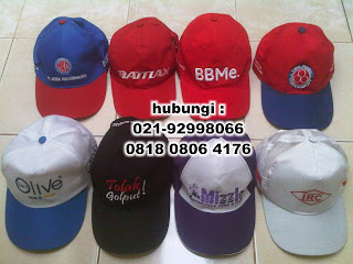 Terima Produksi segala jenis Topi serta souvenir untuk kebutuhan Promosi dan Event-Event Lainnya