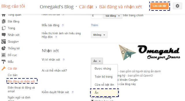 Hướng dẫn cài đặt comment của DISQUS cho Blogger