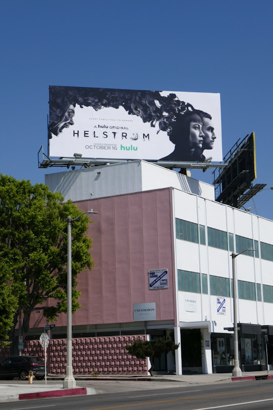 Helstrom TV series billboard