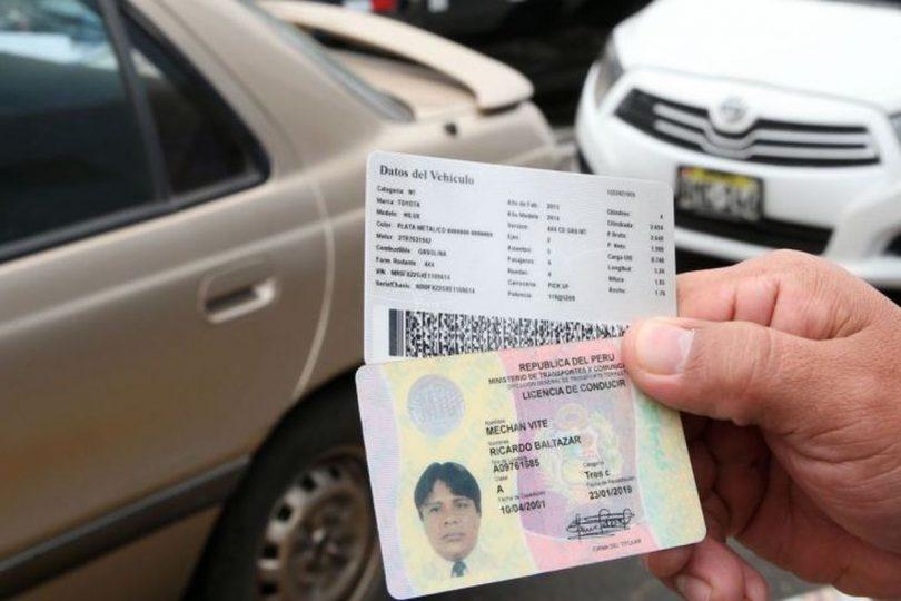 Tipos de Licencia de Conducir (Brevete)