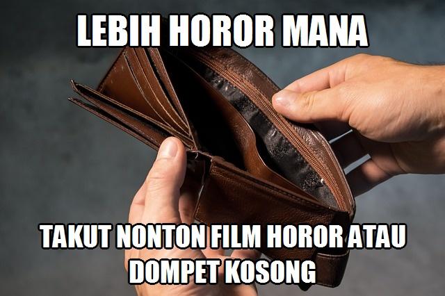 Meme Lucu Horor