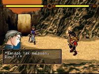 Suikoden II pertempuran terakhir Riou dan Jowy