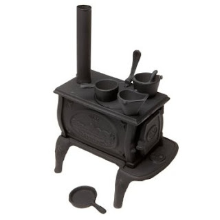 Old Mountain 10142 Black Mini Box Stove Set