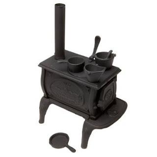 Old Mountain 10142 Black Mini Box Stove Set