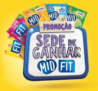 Promoção Sede de Ganhar MID e FIT Prêmios Moto, Tv e Kit Cozinha