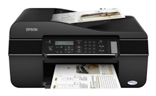 Carry your productivity to around novel score piece using color multifunction  Epson Stylus Office TX620FWD Drivers Download Free
